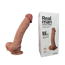Realistic Curved Big Large Dong Suction Cup Unisex Adult Sex Toy
