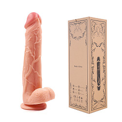 Realistic Dildo Lifelike Big Real Dong Suction Cup In Flesh