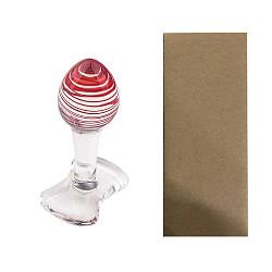 Glass Anal Plug G-Spot Massager Dildo Crystal Butt Plug Large Adult Sex Toys