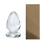 Glass Dildo G-Spot Stimulation Massager Crystal Anal Plug