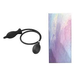 Black Inflatable Anal Butt Plug Dildo