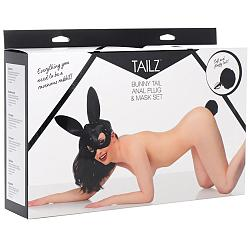 Tailz Bunny Mask with Plug