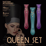 Queen Set G-spot PulseWave Vibrator