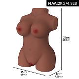 Black Male Masturbator Pocket Pussy Realistic Vagina
