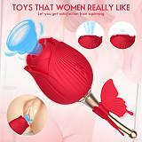 Sucking Teaser Rod Rose Vibrators
