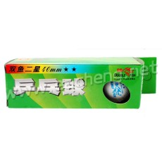 Double Fish 2-star 40mm 3 balls/each box