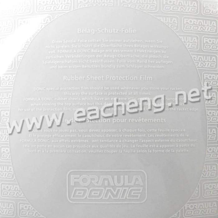 Donic Rubber special sticky protective film