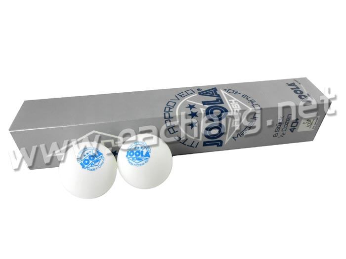 6x JOOLA 3Star 3-Star 40+ White Table Tennis Ball