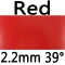 red 2.2mm 39°