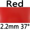 red 2.2mm 37°