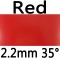 red 2.2mm 35°