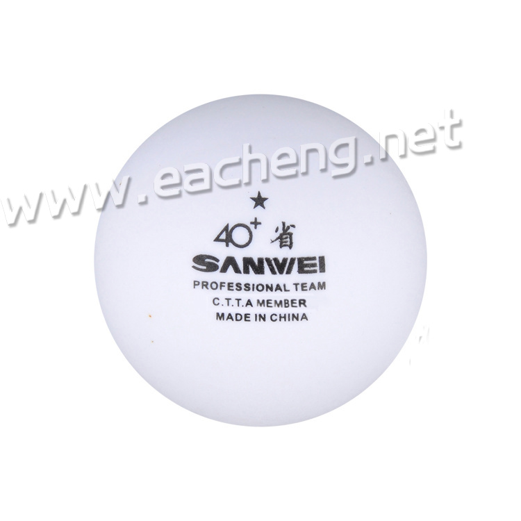 Sanwei 1Star ABS white 40+ (100 balls)
