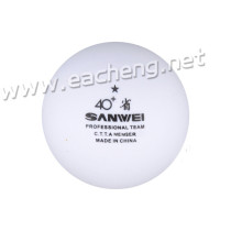 Sanwei 1Star ABS white 40+ (100 balls)