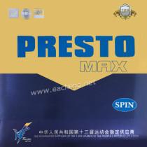 729 PRESTO  MAX SPIN