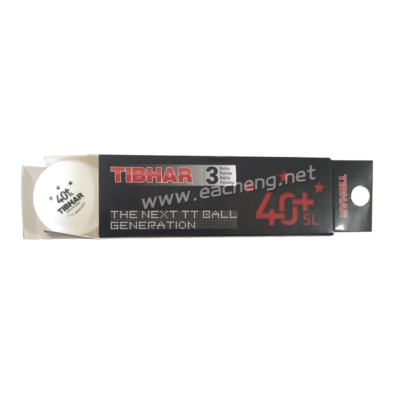 TIBHAR 40+ Poly 3-Star Table Tennis Balls