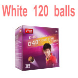 120 PCS DHS 1-Star D40+ Table Tennis Balls