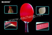 SANWEI table tennis racket