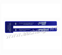 DHS Standard Net Measurer Ruler