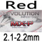 red 2.1-2.2mm