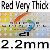 Red Very Thick 2.2MM