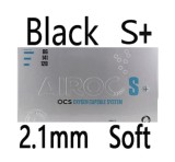 BLACK 2.1mm soft S+
