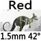 red 1.5mm 42°