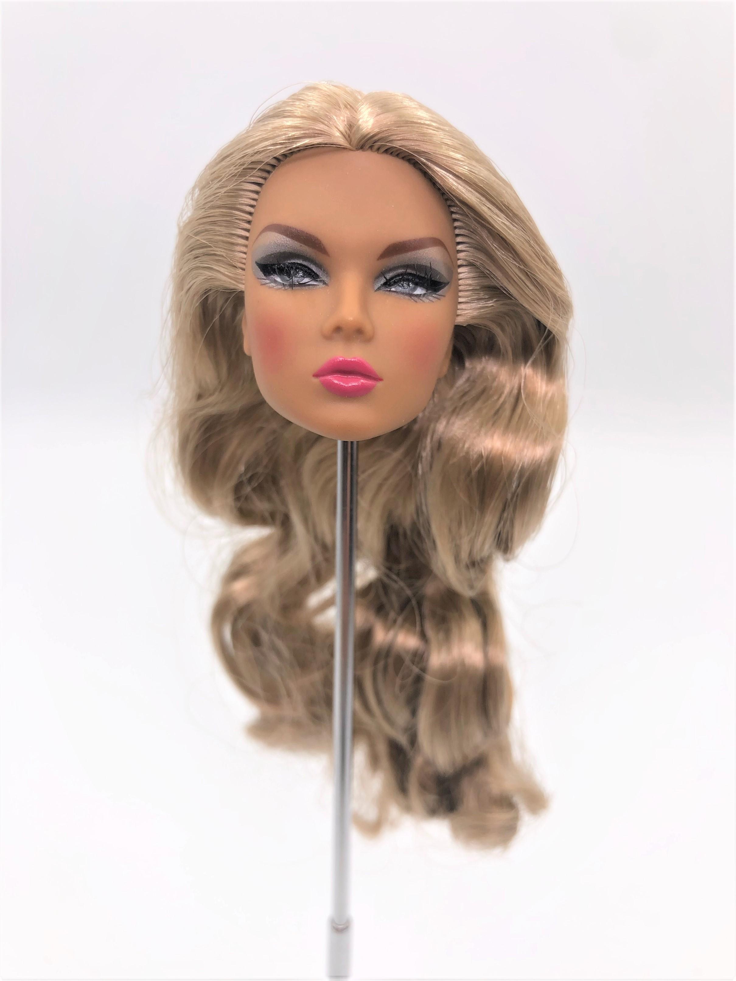 Fashion Royalty Integrity Doll Vanessa Spell of Kindness Head Cream Skin