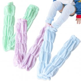 Kalevel 3 Pairs Baby Leg Warmers Leggings Kneepads for Toddler Boys and Girls