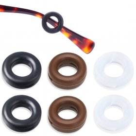 Kalevel Temple Tips 3 pair Anti Slip Eyeglass Retainers Sports Silicone Glasses Sleeve Ear Grip Hooks Cushion Comfort for Working, Daily Wear and Outdoor Activities (Mixed Colors)