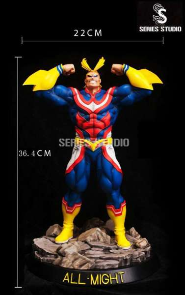 【Pre Order】Series Studio My Hero Academia All·Might  1:6 Resin Statue Deposit