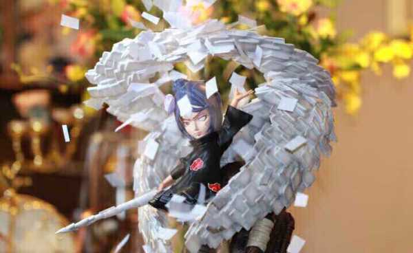 【In Stock】LB Studio Naruto Akatsuki Konan SD Resin Statue
