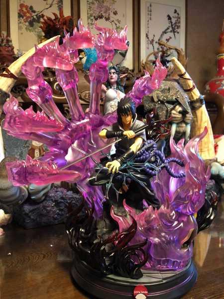 【In Stock】APOCALYPSE Studio Naruto Uchiha Sasuke Susanoo Tempestuous God of Valour 1:8 Resin Statue
