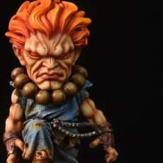 【Pre Order】M Studio Street Fighter Gouki Akuma SD Resin Statue Doposit