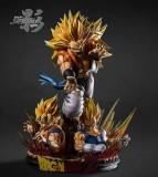 【Pre order】Shadow Studio Dragon Ball Z Super Saiyan Gogeta Saiyan/Blue Gogeta 1:4 Resin Statue Deposit