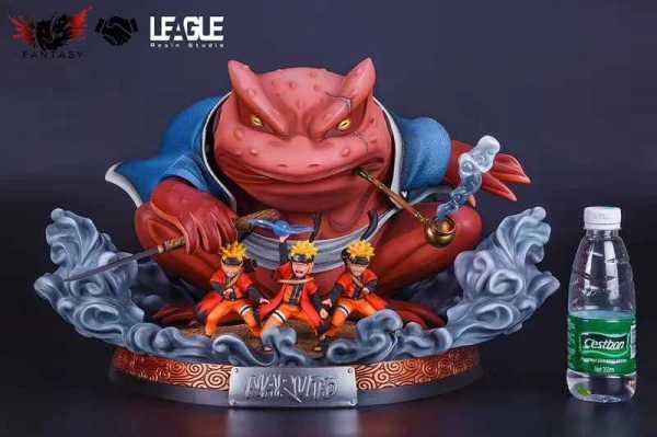 【Pre Order】League Studio Naruto Gama-Bunta WCF Scale Resin Statue Doposit
