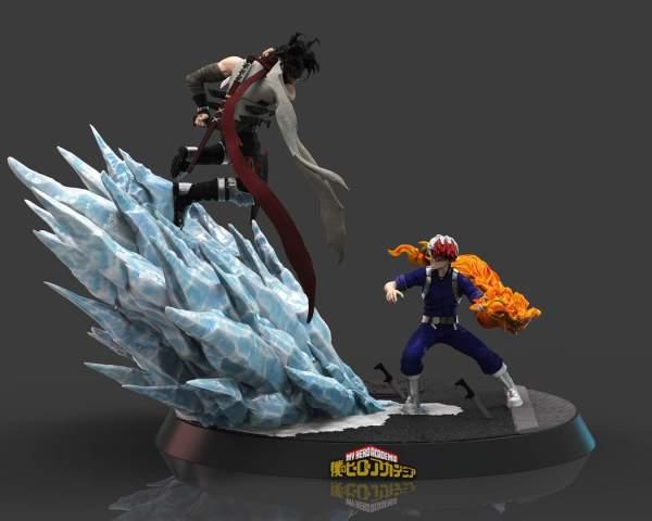 【Pre order】SHOGUN Studio My Hero Academia Shoto vs Stain 1:6 Diorama Resin Statue Deposit