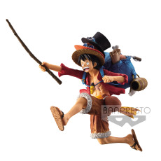 【In Stock】Banpresto One-Piece The BackPack Running Monkey D Luffy 1:8 Scale Figure