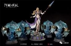 【Pre Order】LIN Studio Warcraft Jaina&water element 1:4 Resin Statue Doposit