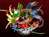 【Pre Order】PT Studio Dragon Ball Super Broly VS Gogeta 1:6 Scale Resin Statue Doposit