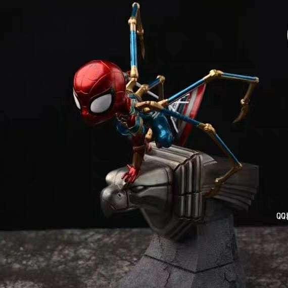 【Pre order】Shui Mu Marvel Spider Man SD Resin Statue