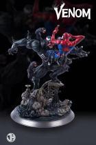 【Pre order】JH Studio Marvel Spider Man VS Venom 1:6 Resin Statue Deposit