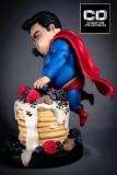 【In Stock】CO Signature DC Fat Superman Chubby Mum Mum Resin Statue