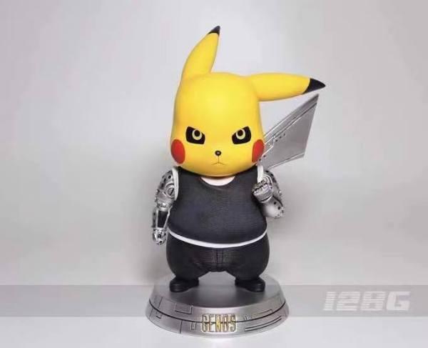 【Pre Order】128g Studio Pokemon Pikachu Cosplay Genos Resin Statue