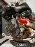 【In Stock】PT Studio One-Piece Monkey D Luffy Three Gear3 Resin Statue