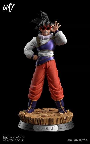 【Pre order】UMY Studio Dragon Ball Z Goku Teleportation 1:6 Scale Resin Statue Deposit