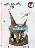 【Pre order】PKMW Studio Pokemon Aerodactyl Omanyte Kabutops Resin Statue Deposit