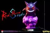 【Pre Order】Red Haired Studio Pokemon Museum Gengar  Resin Statue Deposit
