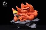 【Pre order】Little Love Studio Naruto Nine Tails Kurama SD Scale Resin Statue Deposit