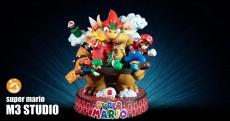 【Pre order】M3 Studio Super Mario Resin Statue Depsoit
