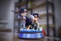 【In Stock】G5-Studio Naruto Momochi Zabuza And Haku WCF Scale Resin Statue
